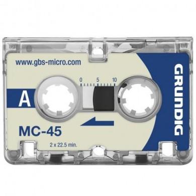 Microcassette MC-45 - lot de 3 -  Grundig - GGM4500