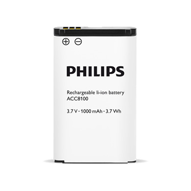 Batterie ACC8100 Philips
