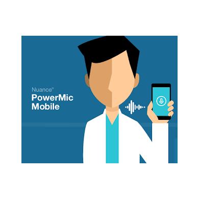 PowerMic Mobile pour Dragon Medical One - DMO