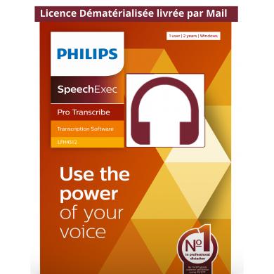 LFH4512 Logiciel SpeechExec...