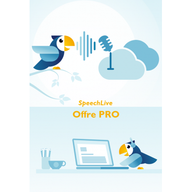 Dictée dans le cloud SpeechLive Offre Pro PHILIPS...