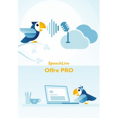 SpeechLive Offre Pro -...