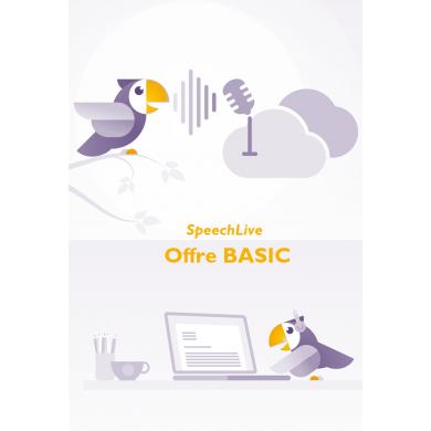 Dictée dans le cloud SpeechLive Offre Basic PHILIPS...