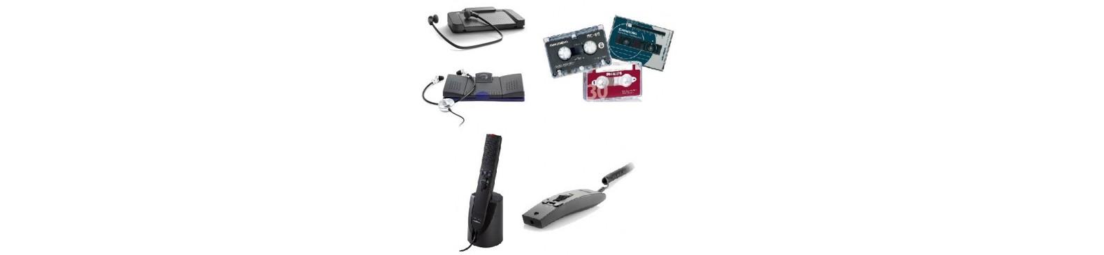 Accessoires pour dictée à cassette – Dictaphones et Dictée à cassettes