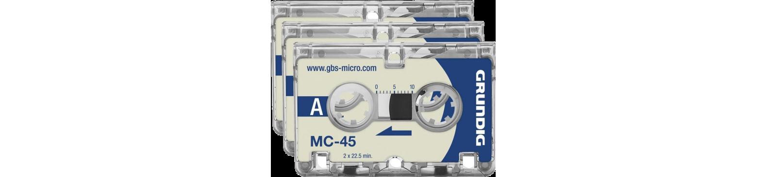 Dictaphone micro cassette – Enregistreur micro-cassette